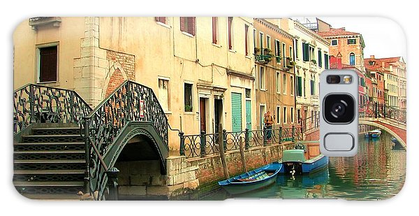 Winding Through The Watery Streets Of Venice Galaxy Case by Barbie Corbett-Newmin