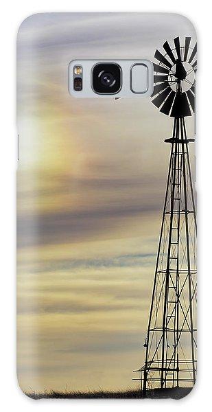 Windmill And Sun Dog Galaxy Case