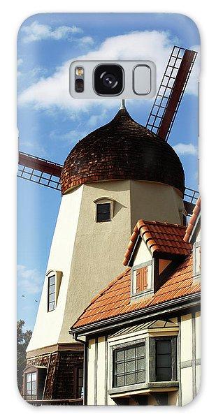 Windmill At Solvang, California Galaxy Case