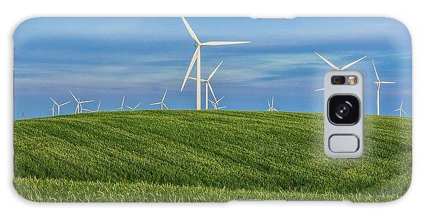 Windmill Farm Galaxy Case