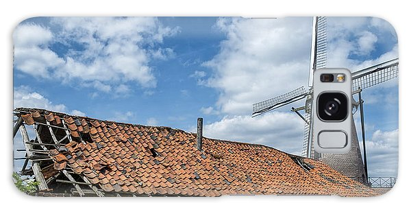 Windmill In Belgium Galaxy Case