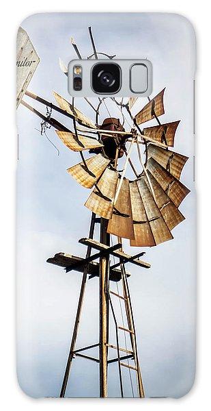 Windmill In The Sky Galaxy Case