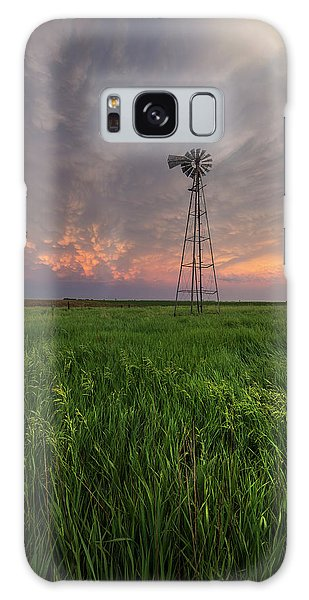 Galaxy Case featuring the photograph Windmill Mammatus by Aaron J Groen