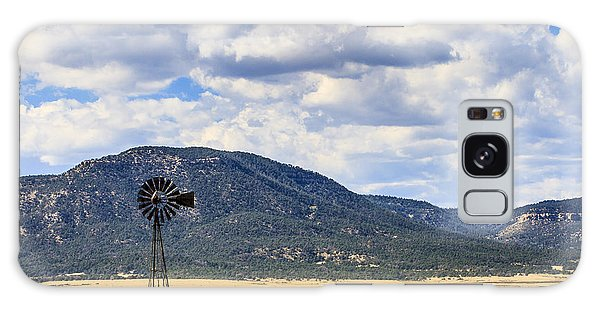 Windmill New Mexico Galaxy Case