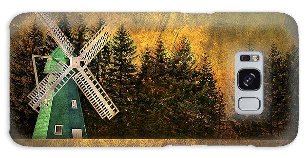 Countryside Galaxy Case - Windmill On My Mind by Evelina Kremsdorf