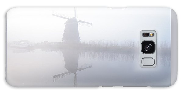 Windmill Reflection Galaxy Case by Phyllis Peterson