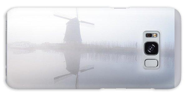Windmill Reflection Galaxy Case