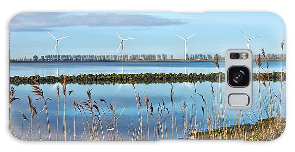 Windmills On A Windless Morning Galaxy Case