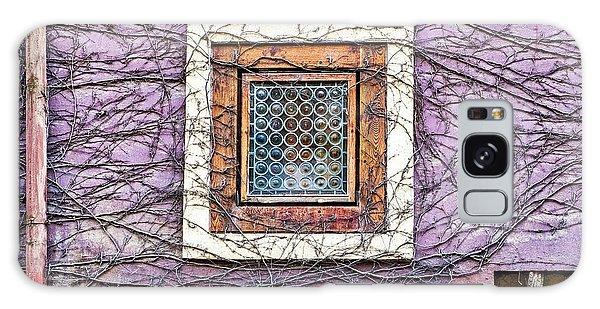 Window And Vines - Prague Galaxy Case