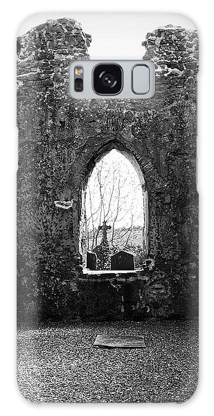 Window At Fuerty Church Roscommon Ireland Galaxy Case