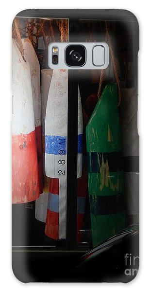 Window Buoys Key West Galaxy Case by Expressionistart studio Priscilla Batzell