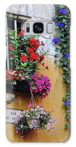 Window Garden In Arles France Galaxy Case by Dave Mills