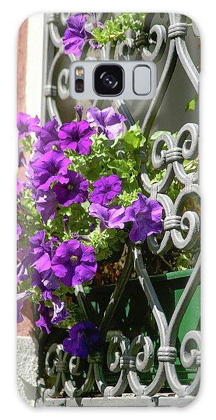 Window In Bloom Galaxy Case