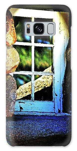 Window In Rock Galaxy Case