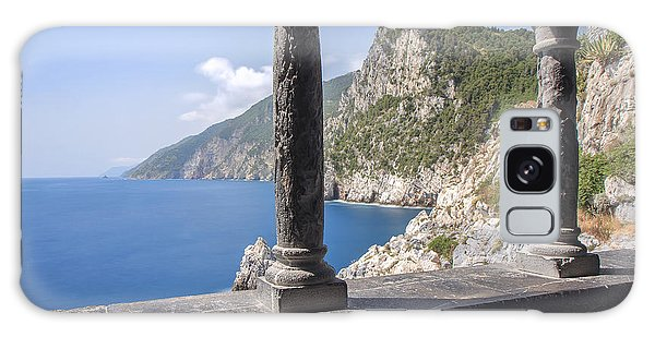 Window On The Sea At Portovenere Galaxy Case