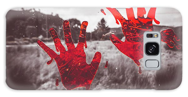 Zombies Galaxy Case - Window Pain by Jorgo Photography - Wall Art Gallery