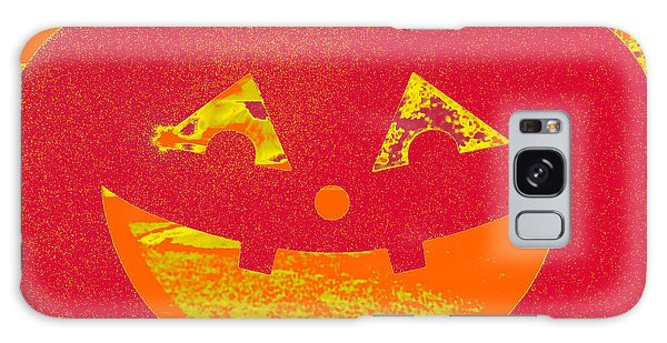 Window Pumpkin #4 Galaxy Case