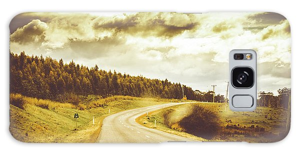Window To A Rural Road Galaxy Case by Jorgo Photography - Wall Art Gallery
