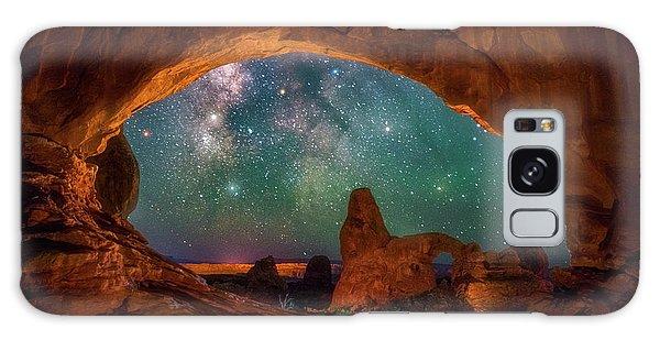 Window To The Heavens Galaxy Case