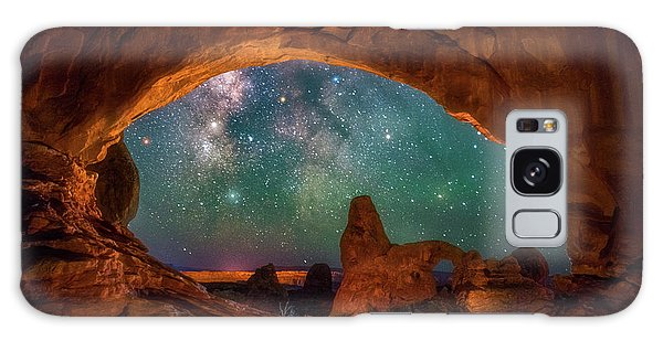 Window To The Heavens Galaxy Case