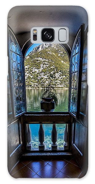 Window To The Lake Galaxy Case