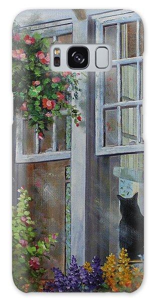 Window Watcher Galaxy Case