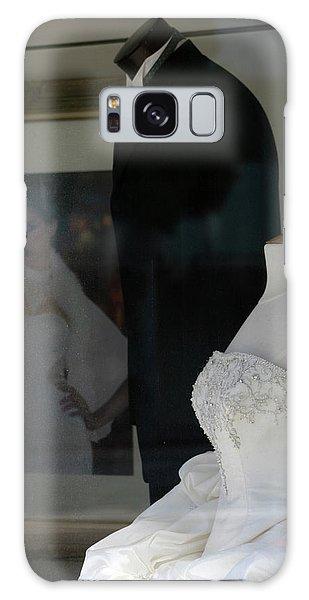 Window Wedding Attire Galaxy Case