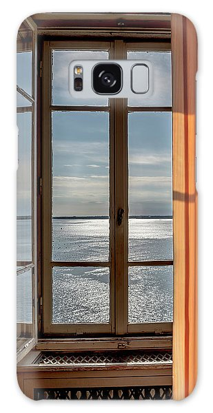 Window With A View Galaxy Case