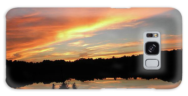 Windows From Heaven Sunset Galaxy Case
