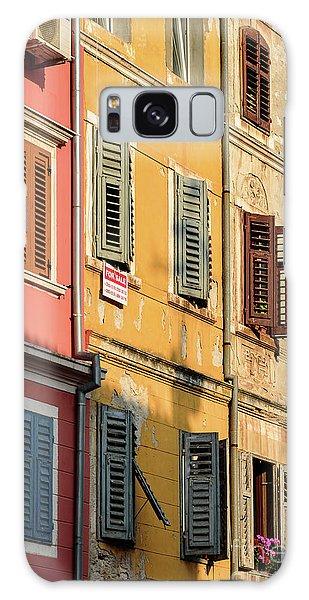 Windows Of Rovinj, Istria, Croatia Galaxy Case