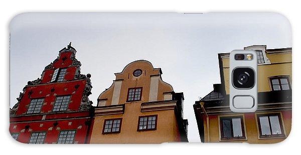 Sweden Galaxy Case - Windows On Gamla Stan by Linda Woods