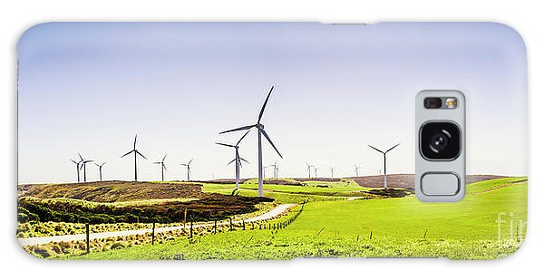 Wind Power Galaxy Case - Winds From West Woolnorth by Jorgo Photography - Wall Art Gallery