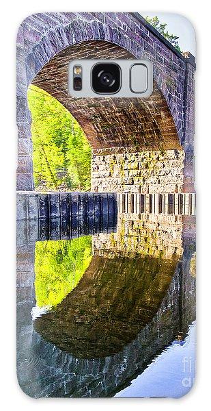 Windsor Rail Bridge Galaxy Case by Tom Cameron