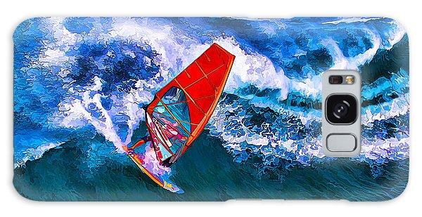 Windsurfer Joy Galaxy Case
