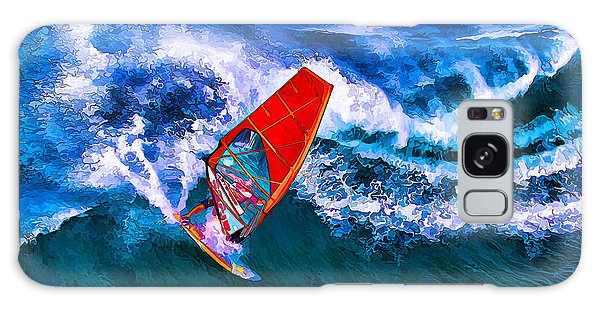 Windsurfer 1 Galaxy Case