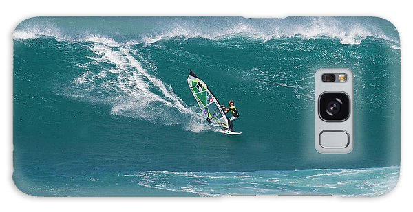 Windsurfer At Hookipa, Maui Galaxy Case