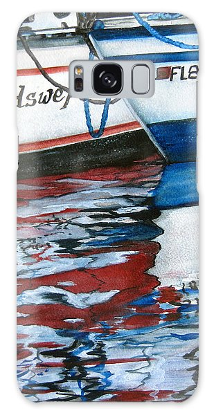 Windswept Reflections Sold Galaxy Case by Lil Taylor