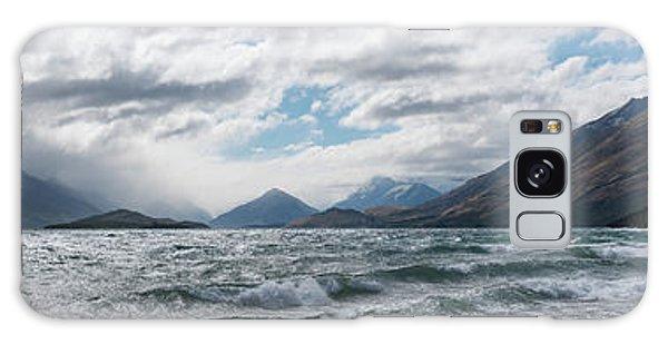 Galaxy Case featuring the photograph Windy Day On Lake Wakatipu by Gary Eason