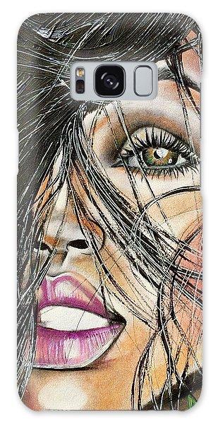 Galaxy Case - Windy Daze by Artist RiA