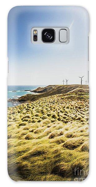 Wind Power Galaxy Case - Windy Meadows by Jorgo Photography - Wall Art Gallery