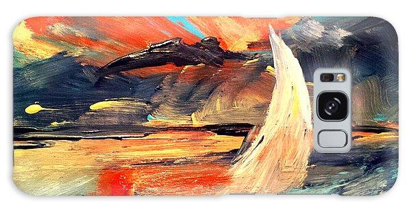 Windy Sail Galaxy Case
