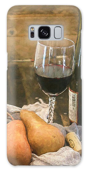 Wine And Pears Galaxy Case