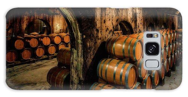 Wine Barrels At Stone Hill Winery_7r2_dsc0318_16-08-18 Galaxy Case