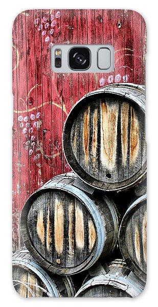 Wine Barrels Galaxy Case
