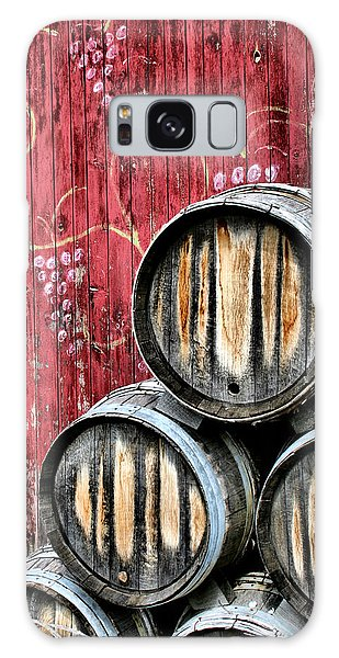 Grape Galaxy Case - Wine Barrels by Doug Hockman Photography