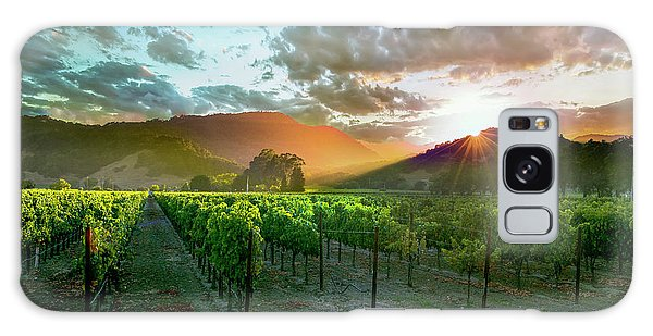 Martini Galaxy S8 Case - Wine Country by Jon Neidert