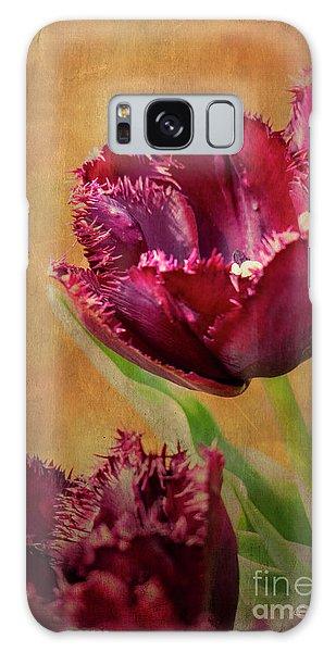 Wine Dark Tulips From My Garden Galaxy Case