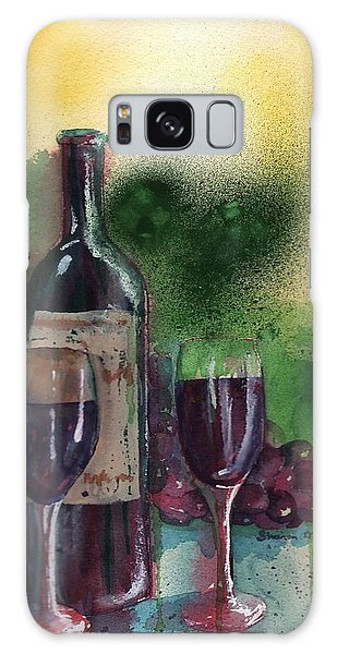Wine For Two Galaxy Case by Sharon Mick