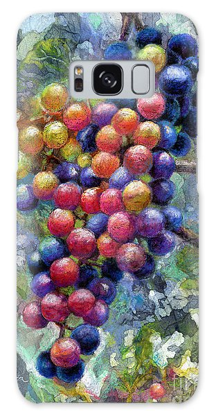 Grape Galaxy Case - Wine Grapes by Hailey E Herrera