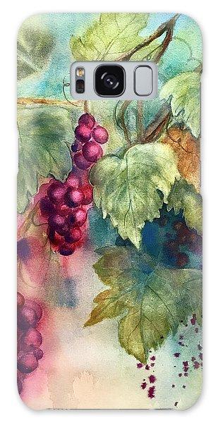 Wine Grapes Galaxy Case